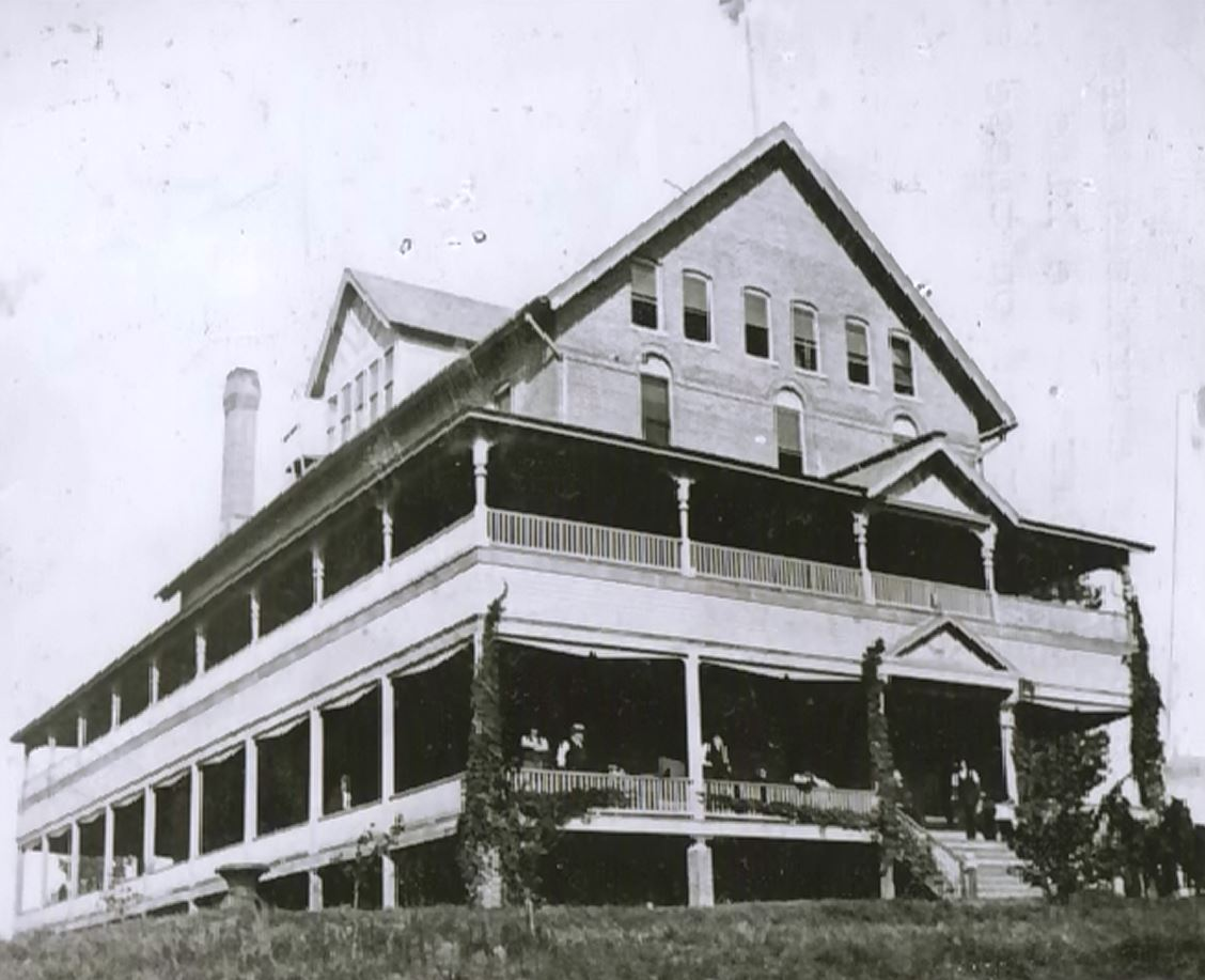 This building was remodeled and became part of the Soldiers and Sailors Home - about 1900