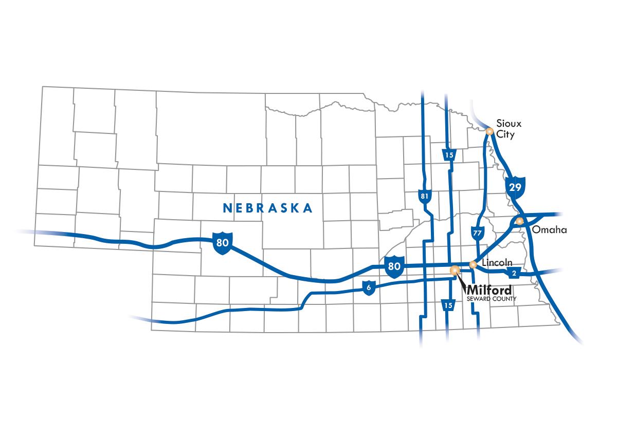 Milford, Nebraska USA